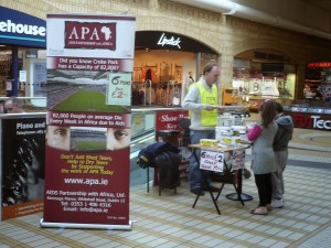 20 ASHLEAF Shopping Centre, Crumlin hosts APA
