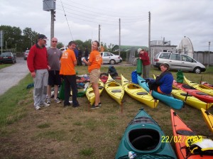38 Kayacking on the Shannon for APA